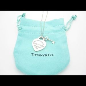 Tiffany and Co engraved necklace (GK engraved)